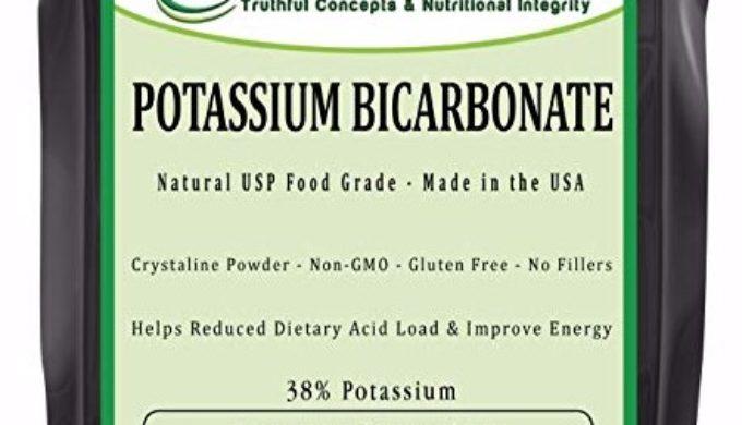 Potassium Bicarbonate Uses